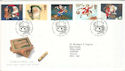 1997-10-27 Christmas Crackers Bureau FDC (51949)