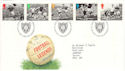 1996-05-14 Football Legends Stamps Bureau FDC (51959)