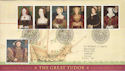 1997-01-21 Henry VIII / 6 Wives Stamps Bureau FDC (51966)