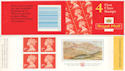 1998-11-14 HB16 Booklet 4x1st + Prince of Wales (51970)