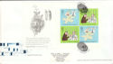 2003-02-25 Microcosmos Full Pane Cambridge FDC (52006)