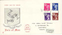 1971-07-07 IOM Definitive Douglas FDC (52070)