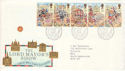 1989-10-17 Lord Mayor Show Bureau FDC (52141)