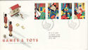 1989-05-16 Games and Toys Stamps Bureau FDC (52150)