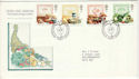 1989-03-07 Food and Farming Stamps Bureau FDC (52155)