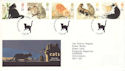 1995-01-17 Cat Stamps Kitts Green FDC (52176)