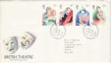 1982-04-28 British Theatre Stamps Bureau FDC (52246)