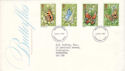1981-05-13 Butterflies Stamps Dunstable FDC (52257)