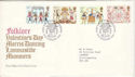 1981-02-06 Folklore Stamps London WC FDC (52260)