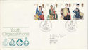 1982-03-24 Youth Orgs Stamps Glasgow FDC (52265)