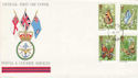 1981-05-13 Butterflies Stamps FPO 952 cds FDC (52426)