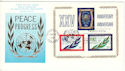 1970-06-26 United Nations 25th Anniv Sheet FDC (52475)