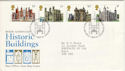 1978-03-01 Historic Buildings Stamps Bureau FDC (52483)