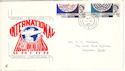 1965-11-15 ITU Centenary Margate cds FDC (52518)