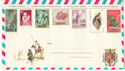 Spain Espana Stamps on envelope (52536)