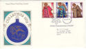 1972-10-18 Christmas Stamps Bethlehem FDC (52567)