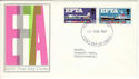 1967-02-20 EFTA Stamps Bournemouth FDC (52598)