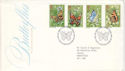 1981-05-13 Butterflies Stamps London SW FDC (52630)