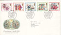 1982-11-17 Christmas Stamps Bethlehem FDC (52636)