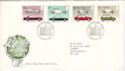 1982-10-13 British Motor Cars Crewe FDC (52638)