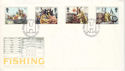 1981-09-23 Fishing Industry Stamps Hull FDC (52643)