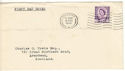 1958-08-18 Wales Definitive Cardiff FDC (52654)