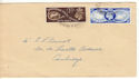 1949-10-10  Universal Postal Union Cambridge cds x2 FDC (52658)