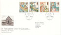 1997-03-11 Missions of Faith Isle of Iona FDC (52664)