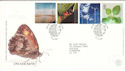 2000-04-04 Life and Earth Stamps Doncaster FDC (52707)