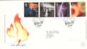 2000-02-01 Fire and Light Stamps Edinburgh FDC (52709)