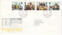 1981-09-23 Fishing Industry Stamps Hull FDC (52715)