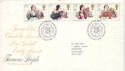 1980-07-09 Authoresses Stamps Haworth FDC (52760)