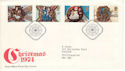 1974-11-27 Christmas Stamps Bethlehem FDC (52789)