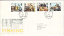 1981-09-23 Fishing Industry Stamps Hull FDC (52897)