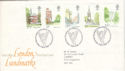1980-05-07 London Landmarks Stamps Bureau FDC (52899)