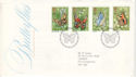 1981-05-13 Butterflies Stamps London SW FDC (52903)