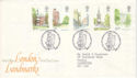 1980-05-07 London Landmarks Stamps Kingston FDC (52921)