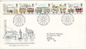 1980-03-12 Railway Stamps Manchester FDC (52945)