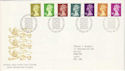 1991-09-10 Definitive Stamps Bureau FDC (H-53046)