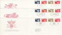 1990-12-04 Regional Definitive Stamps x3 FDC (H-53054)
