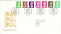 1996-06-25 Definitive Stamps Bureau FDC (H-53075)