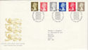 1993-10-26 Definitive Stamps Bureau FDC (H-53113)