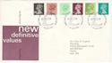 1980-01-30 Definitive Stamps Windsor FDC (H-53248)