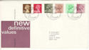 1982-01-27 Definitive Stamps Bureau FDC (H-53260)