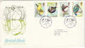 1980-01-16 British Birds Sandy Beds FDC (53277)