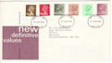 1982-01-27 Definitive Stamps Aberdeen FDI (H-53313)