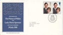 1981-07-22 Royal Wedding Caernarfon FDC (53318)