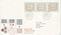 1984-05-01 Postage Labels London FDC (H-53367)