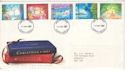 1987-11-17 Christmas Stamps Norwich FDC (53387)
