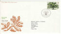1973-02-28 British Trees Bureau FDC (53577)